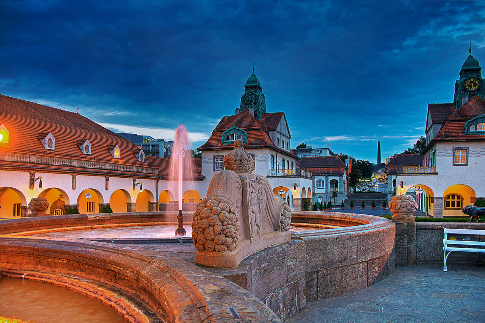 Bad Nauheim Bad Nauheim Is A Spa Town Rich In Tradition