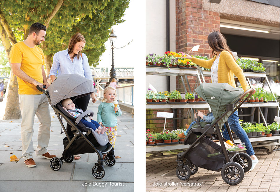 Joie: Travelling safe and comfortably with a baby | Discover Germany