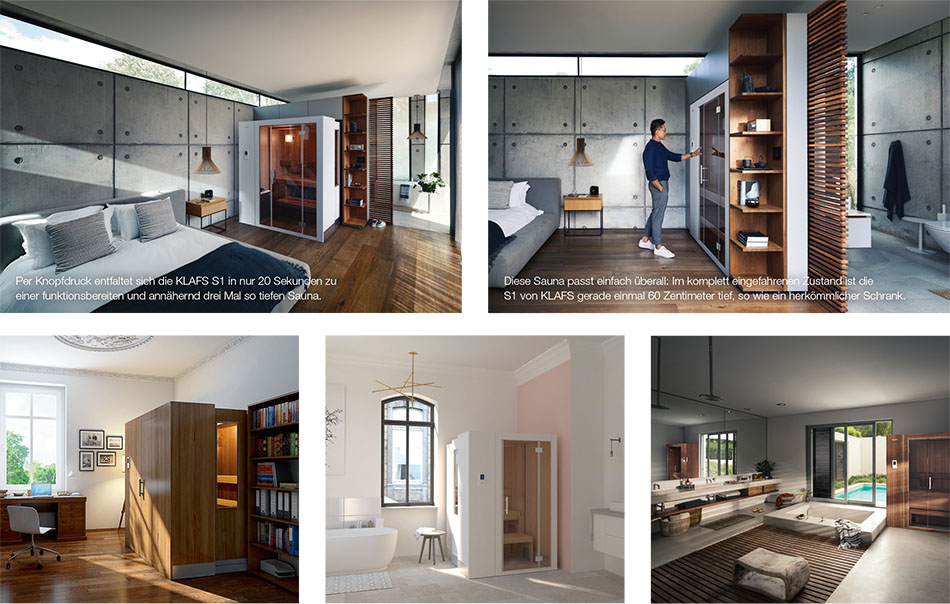 KLAFS AG | Luxurious saunas for small spaces | Discover Germany
