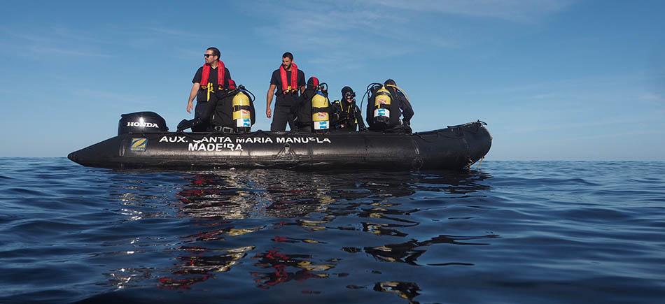 Santa Maria Manuela: All hands on deck