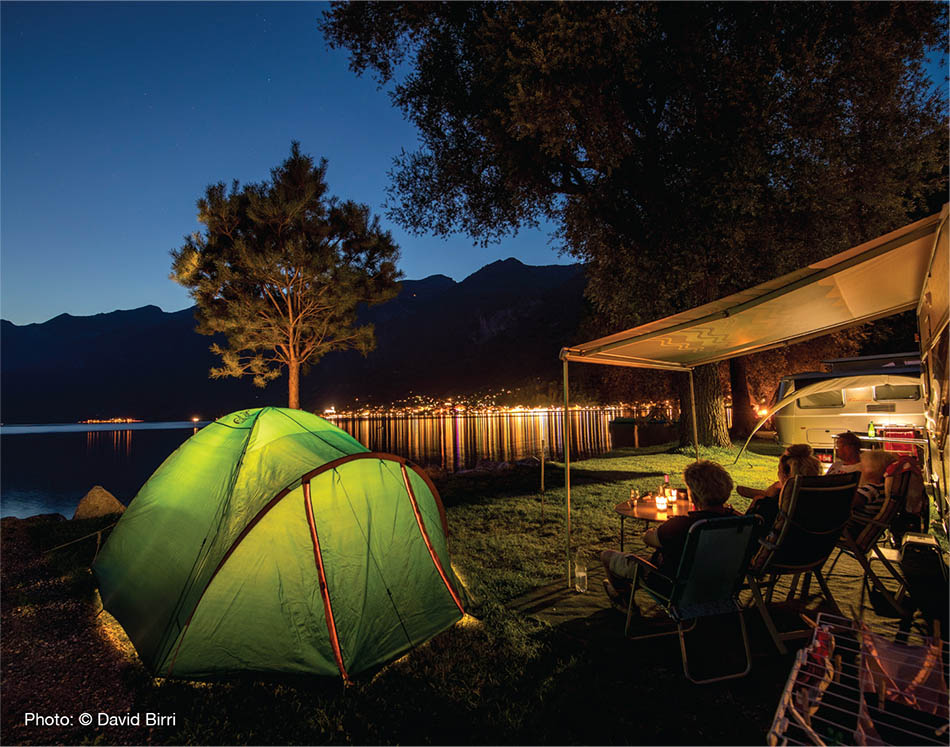 All of Switzerland in one place: Discover the most beautiful campsites around Lakes Thun and Brienz